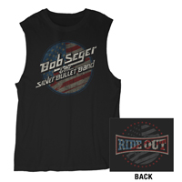 Bob Seger & The Silver Bullet Band Ride Out Sleeveless Tee