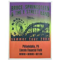 2003 Philadelphia Event Poster