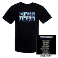 Black Photo Squares/Itin 09 T-shirt