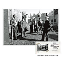 Exclusive - Bruce Springsteen and the E Street Band '78 Iconic Photo Lithograph Print* - Limited Collector's Edition 1/490