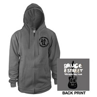Wrecking Ball 2012 Tour Zip-Up Hoodie