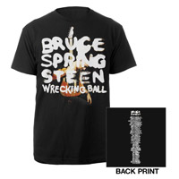 2012 Wrecking Ball Album Cover Tour Tee