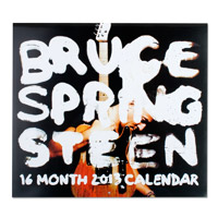 New - Bruce Springsteen 2012/2013 16 Month Calendar