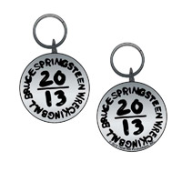 New - Metal Embossed 2013 Tour Keychain