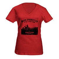 Women's Springsteen Heathered V-Neck