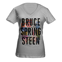 Women's Bruce Springsteen V-Neck