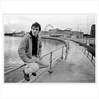 Exclusive Lithograph Print - Bruce Springsteen Solo Collection - Palace Amusements and the Ferris Wheel