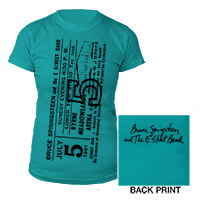 Juniors The River Tour Ticket Tee