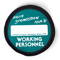 Working Personnel Patch