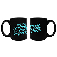 The River Black Mug