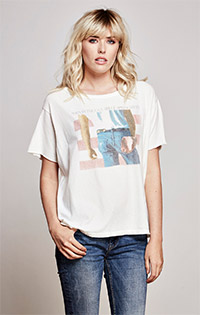 Bruce Springsteen Short Sleeve Boxy Tee