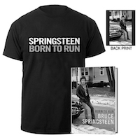 Born To Run Book + Tee Bundle