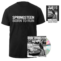 Chapter & Verse CD + Born To Run Tee Bundle