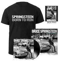 Chapter & Verse LP + Born To Run Tee + Calendar Bundle