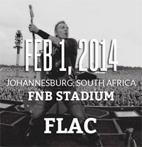 Johannesburg, South Africa - 1 Feb, 2014  FLAC