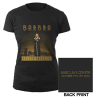 Barbra Back To Brooklyn Ladies Tee