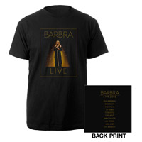 Barbra Streisand LIVE Tour Tee