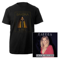 Exclusive! Barbra Streisand Back to Brooklyn CD & T-Shirt Bundle