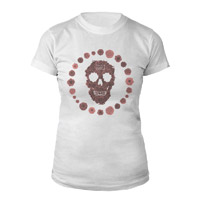 Calvin Harris Women's Skull Shirt