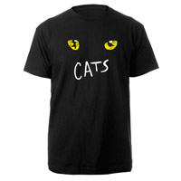 Cats Eyes Black Tour T-shirt