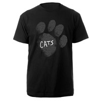 Cats Paw Black Tour T-shirt