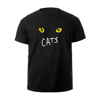 Cats Eyes Black Tour Youth T-shirt