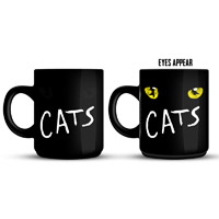 Cats Eyes Heat Reactive Mug
