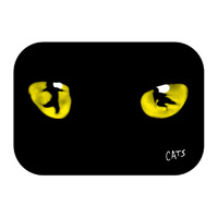 Cats Eyes Fridge Magnet