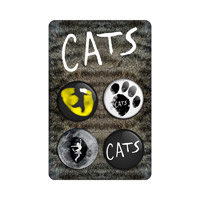 Cats Badge Set
