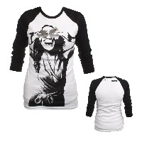 Official Play On Tour Foil Eyes Girls Raglan