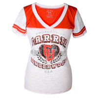 Carrie Underwood 2012 Burnout Football Tee