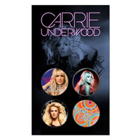 Carrie Underwood 4-set button pack