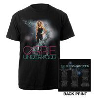 Official Blown Away 2013 Tour Tee
