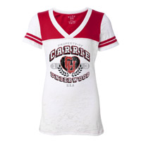 Carrie Underwood Burnout Football Tee 2013