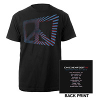 2011 Chickenfoot Tour Tee