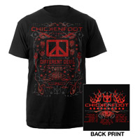 2012 Different Devil Tour Tee