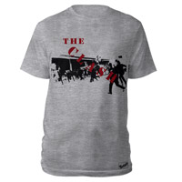 The Clash Sports Grey 1st Ever T-shirt
