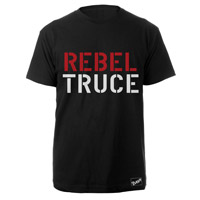The Clash Blk Rebel Truce T-shirt