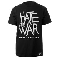 The Clash Blk Hate & War T-shirt