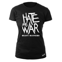 The Clash Blk Hate & War Ladies T