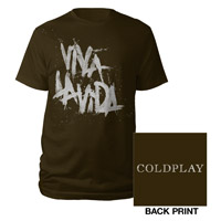 Viva La Vida Logo Tee Brown