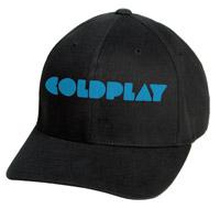 Coldplay Black Logo Cap