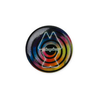 Coldplay Swirl Button