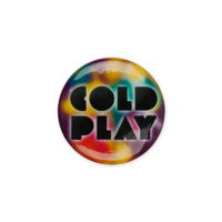 Coldplay Color Button