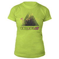 Coldplay Live Stage Photo Women's Tee
