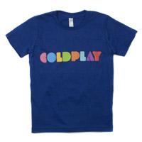 Coldplay Youth Logo Tee