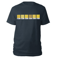 Pre-Order Yellow Pantone Strip Tee*