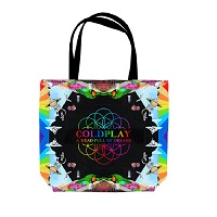 Coldplay Vinyl Tote Bag