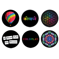 Coldplay A Head Full Of Dreams Badge Set