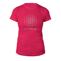 Coldplay Flower Of Life Women's T-Shirt*